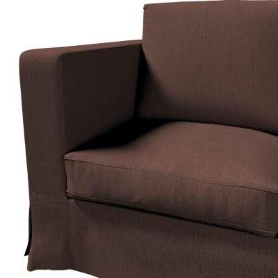 Pokrowiec na sofę Karlanda 3-osobową nierozkładaną, długi w kolekcji Chenille, tkanina: 702-18
