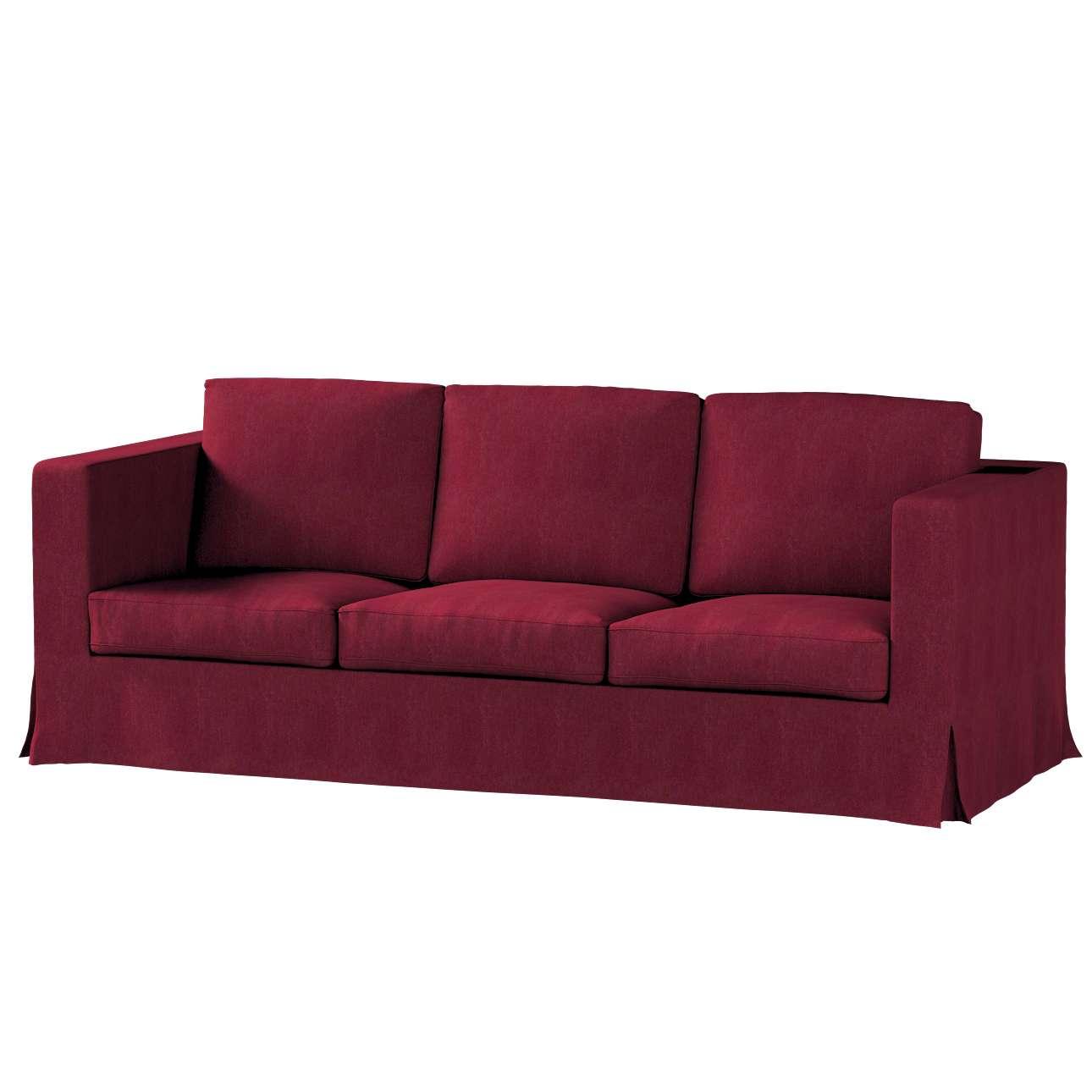 Potah na pohovku IKEA  Karlanda 3-místná nerozkládací, dlouhý pohovka Karlanda 3-os v kolekci Chenille , látka: 702-19
