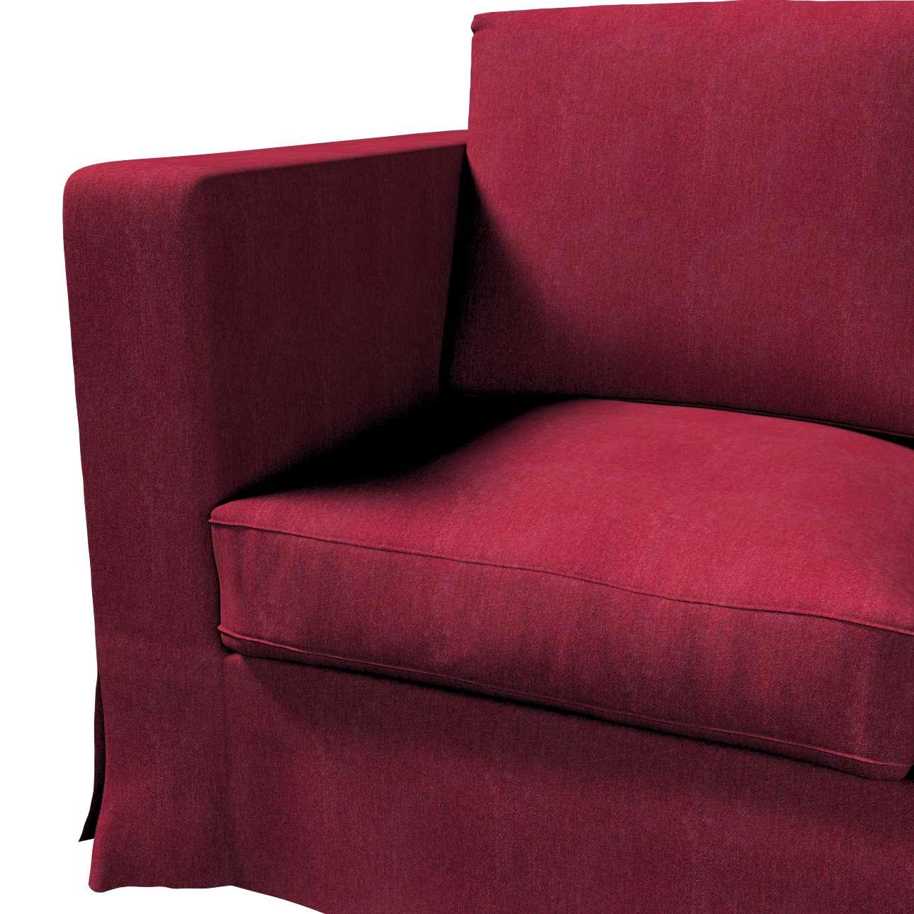 Potah na pohovku IKEA  Karlanda 3-místná nerozkládací, dlouhý v kolekci Chenille, látka: 702-19
