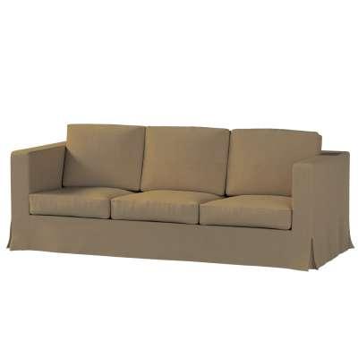 Karlanda klädsel 3-sits soffa - lång i kollektionen Chenille, Tyg: 702-21