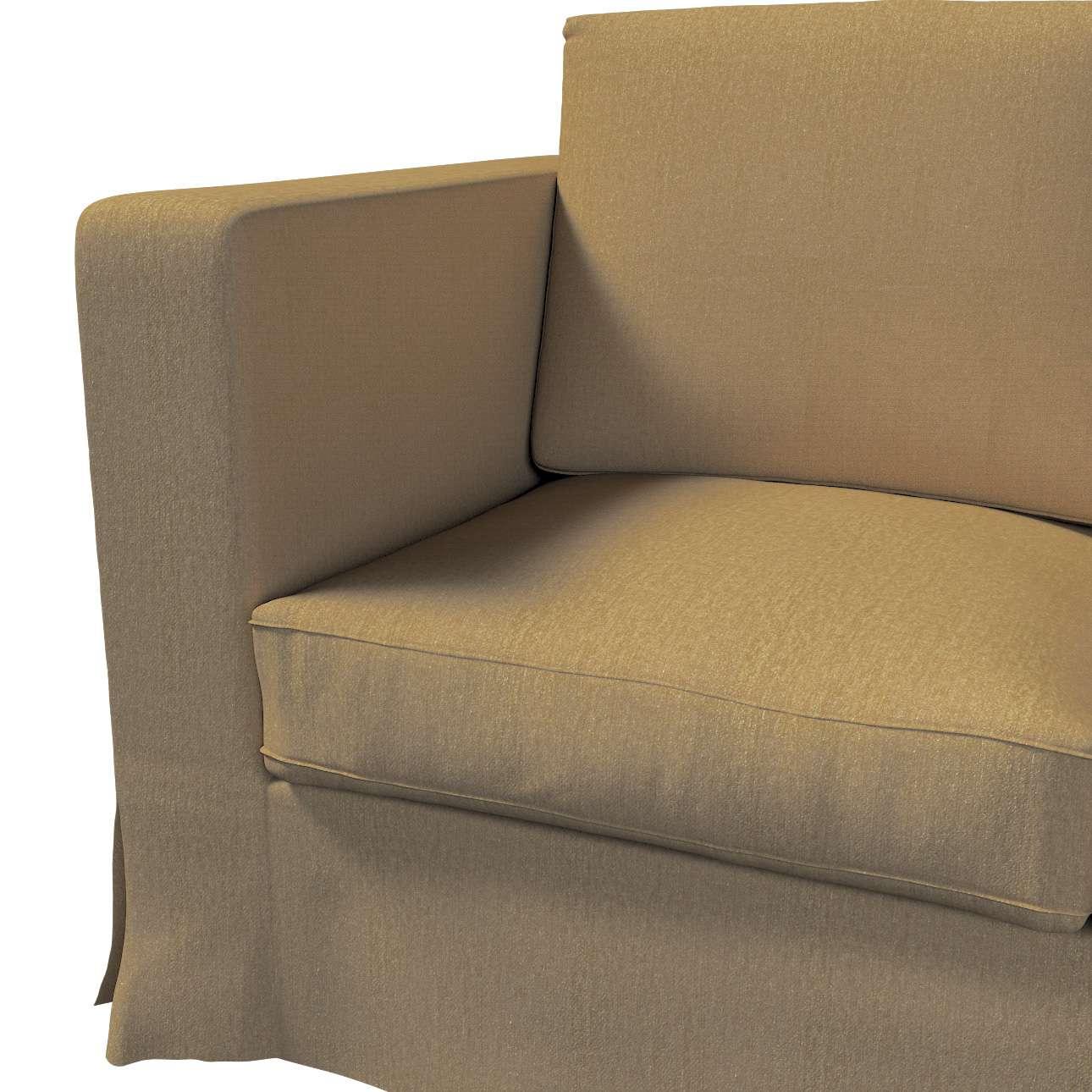 Pokrowiec na sofę Karlanda 3-osobową nierozkładaną, długi w kolekcji Chenille, tkanina: 702-21