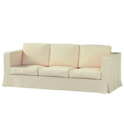 Bezug für Karlanda 3-Sitzer Sofa nicht ausklappbar, lang von der Kollektion Chenille , Stoff: 702-22