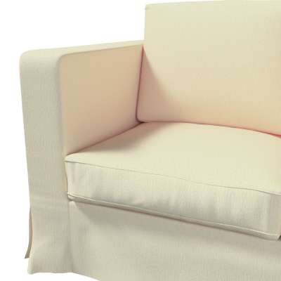 Pokrowiec na sofę Karlanda 3-osobową nierozkładaną, długi w kolekcji Chenille, tkanina: 702-22