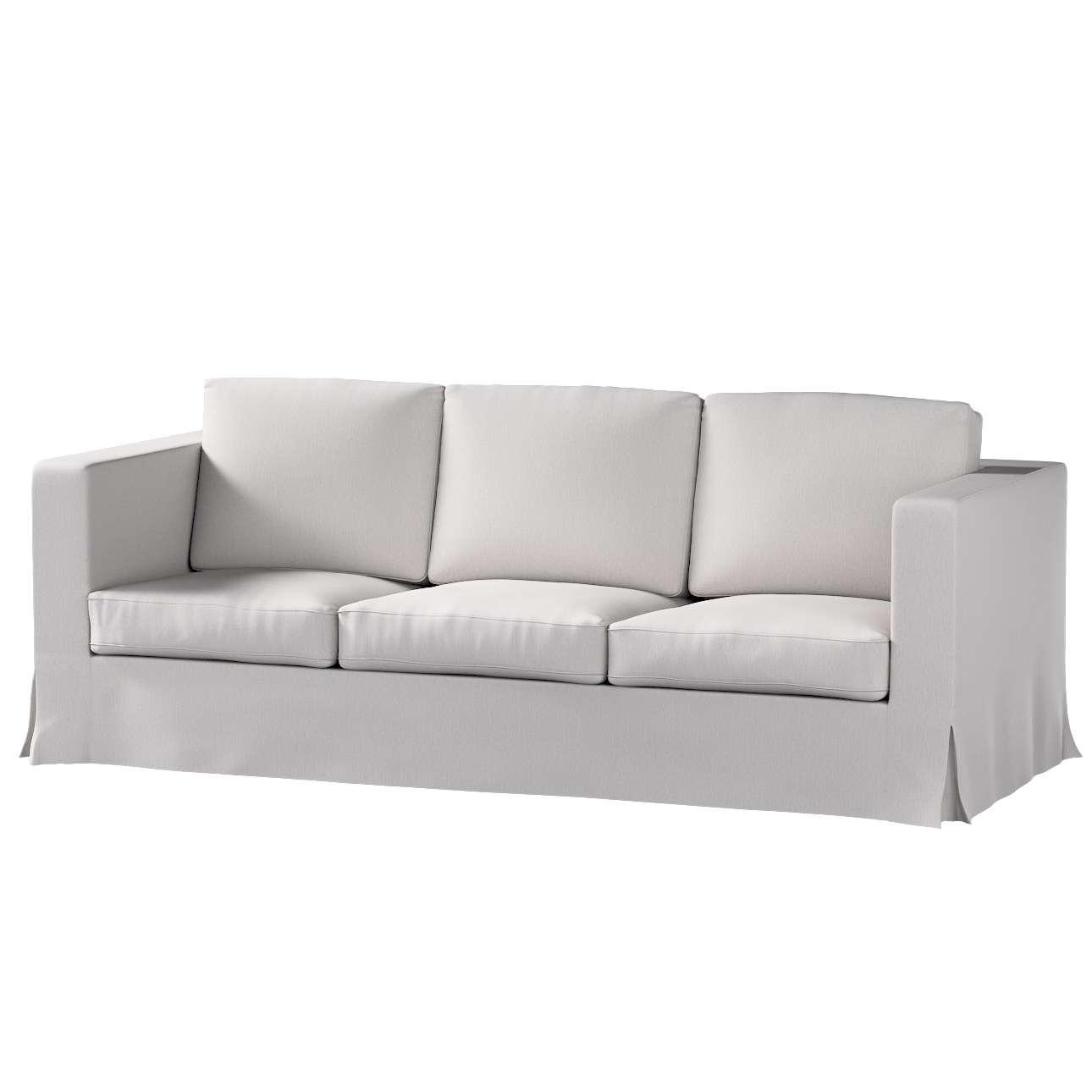 Karlanda 3-Sitzer Sofabezug nicht ausklappbar lang Sofa Karlanda 3-lang von der Kollektion Chenille , Stoff: 702-23
