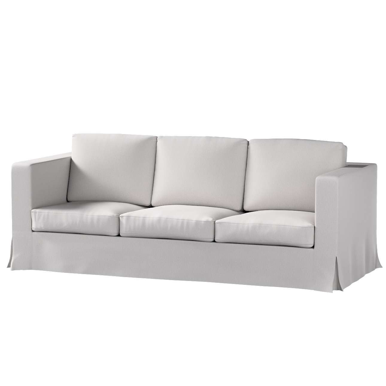 Karlanda klädsel 3-sits soffa - lång i kollektionen Chenille, Tyg: 702-23