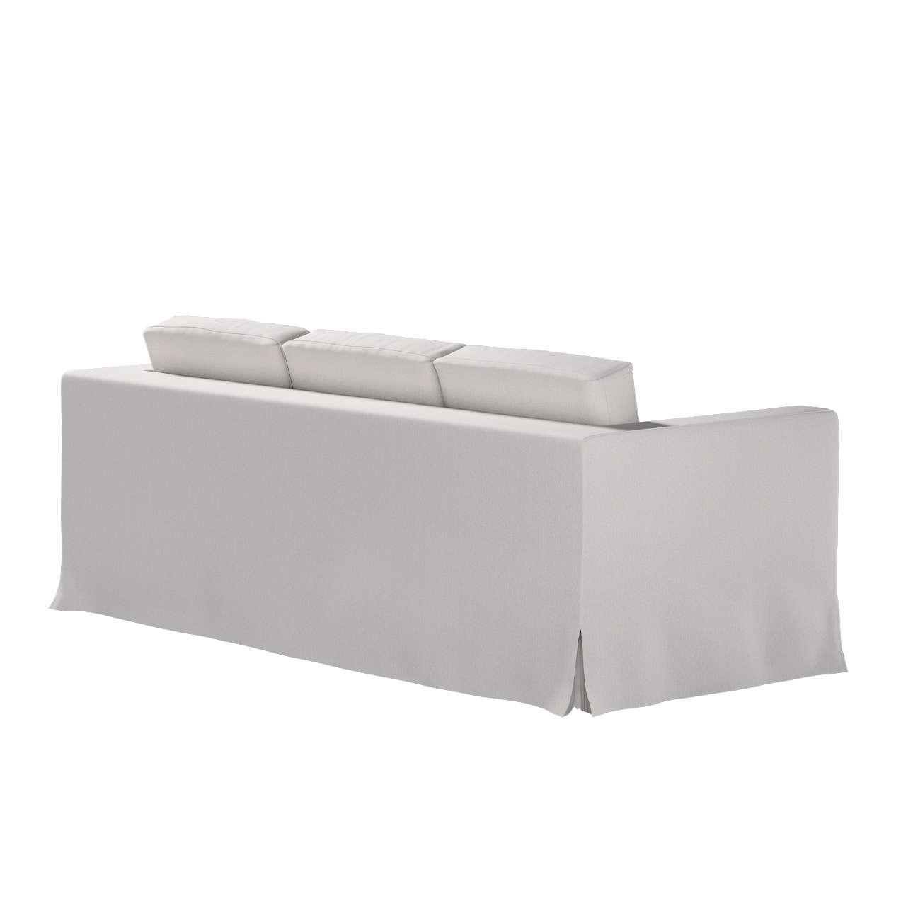 Bezug für Karlanda 3-Sitzer Sofa nicht ausklappbar, lang von der Kollektion Chenille , Stoff: 702-23