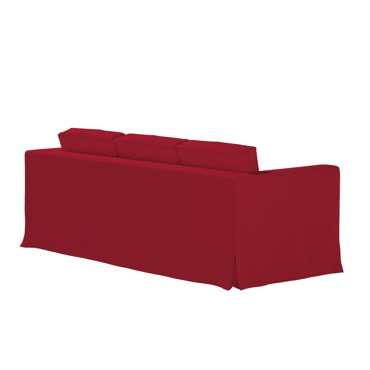 Karlanda 3-Sitzer Sofabezug nicht ausklappbar lang, rot