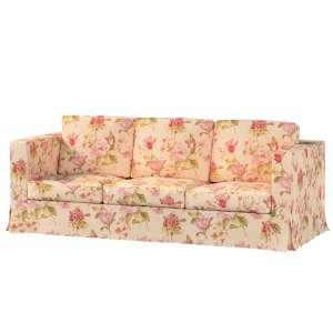 Pokrowiec na sofę Karlanda 3-osobową nierozkładaną, długi Sofa Karlanda 3-os w kolekcji Londres, tkanina: 123-05