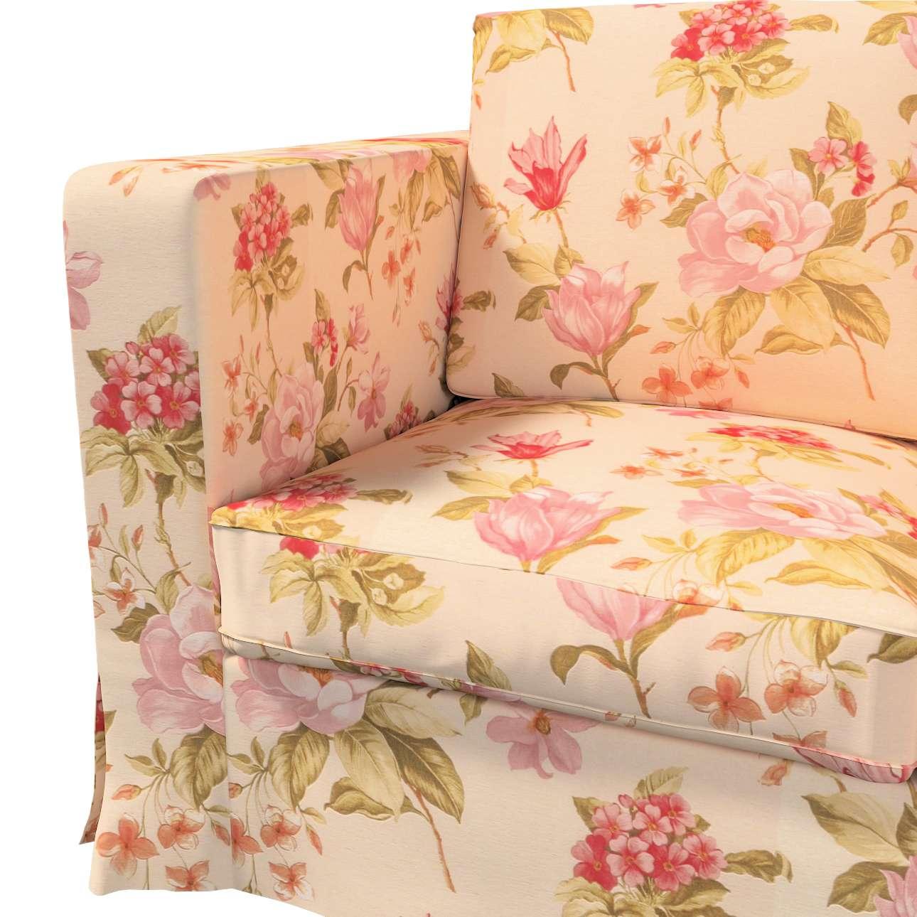 Karlanda 3-üléses  kanapé huzat nem kinyitható hosszú a kollekcióból Londres Bútorszövet, Dekoranyag: 123-05