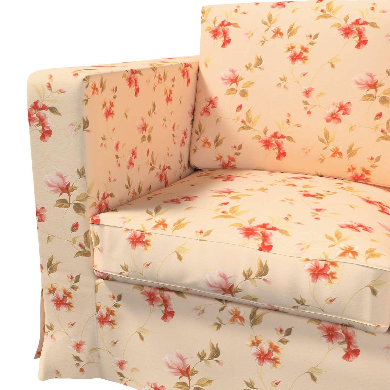 Bezug für Karlanda 3-Sitzer Sofa nicht ausklappbar, lang von der Kollektion Londres, Stoff: 124-05