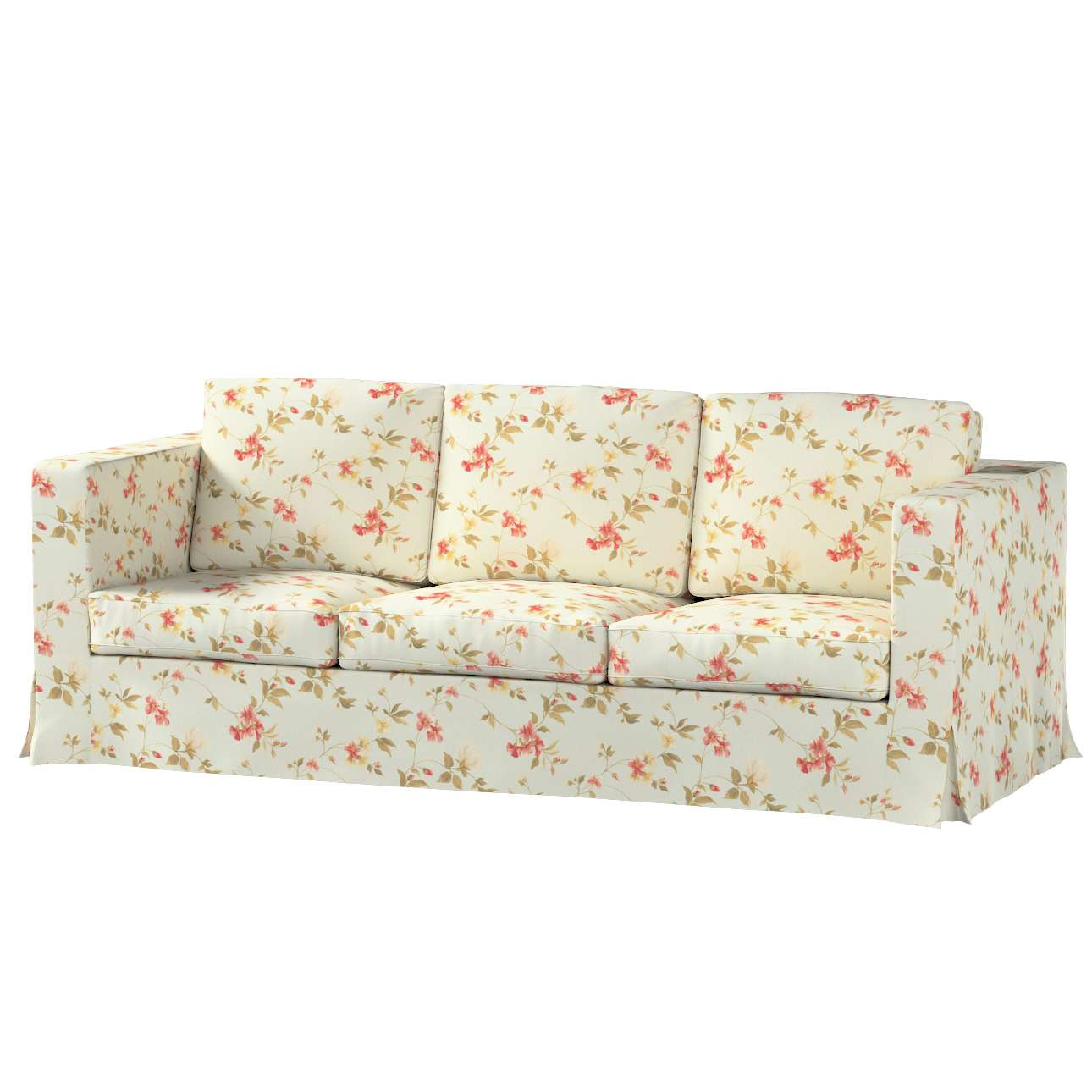 Karlanda 3-Sitzer  Sofabezug nicht ausklappbar lang Sofa Karlanda 3-lang von der Kollektion Londres, Stoff: 124-65