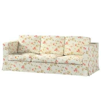 Pokrowiec na sofę Karlanda 3-osobową nierozkładaną, długi w kolekcji Londres, tkanina: 124-65