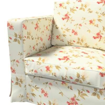 Karlanda klädsel 3-sits soffa - lång i kollektionen Londres, Tyg: 124-65