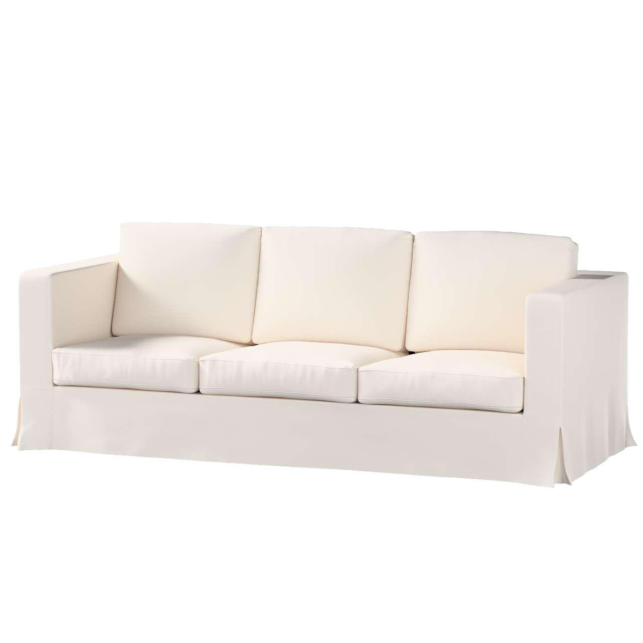 Bezug für Karlanda 3-Sitzer Sofa nicht ausklappbar, lang von der Kollektion Etna, Stoff: 705-01