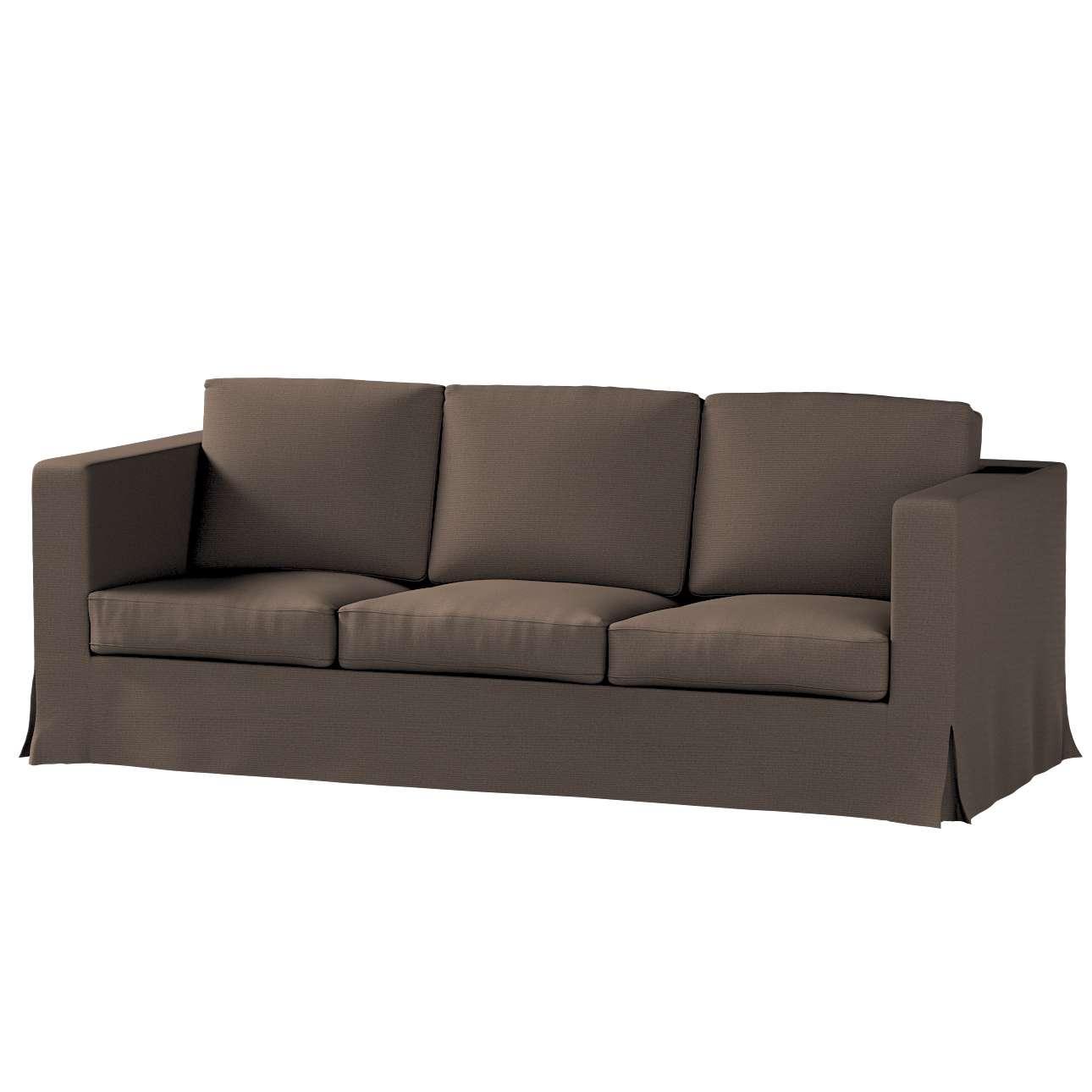 Potah na pohovku IKEA  Karlanda 3-místná nerozkládací, dlouhý pohovka Karlanda 3-os v kolekci Etna, látka: 705-08