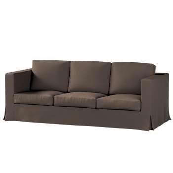 Pokrowiec na sofę Karlanda 3-osobową nierozkładaną, długi w kolekcji Etna , tkanina: 705-08