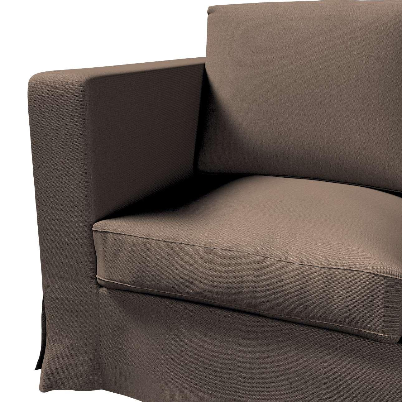 Karlanda klädsel 3-sits soffa - lång i kollektionen Etna, Tyg: 705-08