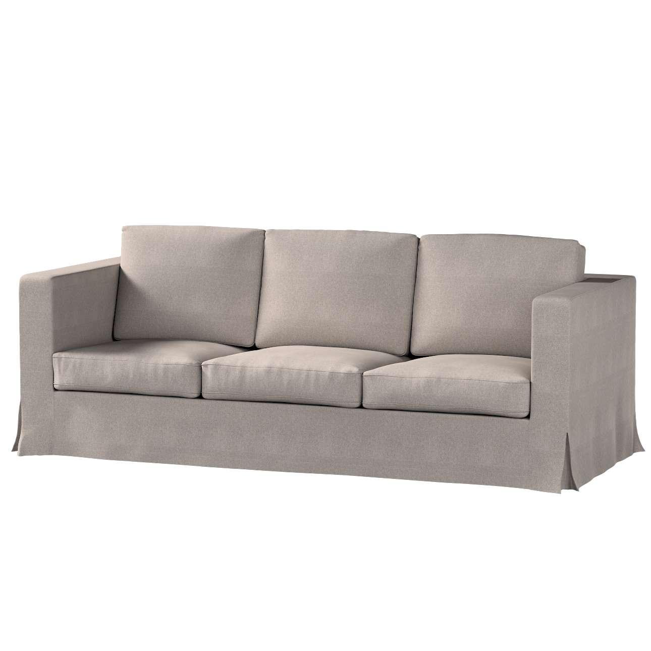 Bezug für Karlanda 3-Sitzer Sofa nicht ausklappbar, lang von der Kollektion Etna, Stoff: 705-09