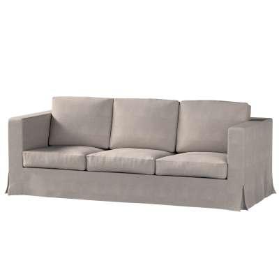 Potah na pohovku IKEA  Karlanda 3-místná nerozkládací, dlouhý v kolekci Etna, látka: 705-09
