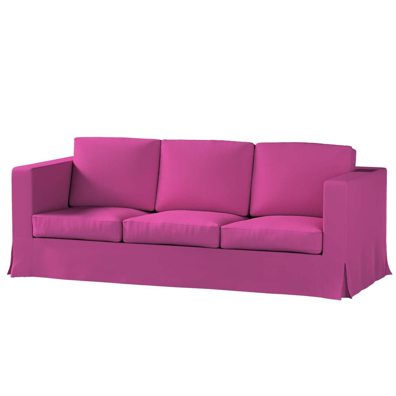 Pokrowiec na sofę Karlanda 3-osobową nierozkładaną, długi Sofa Karlanda 3-os w kolekcji Etna , tkanina: 705-23