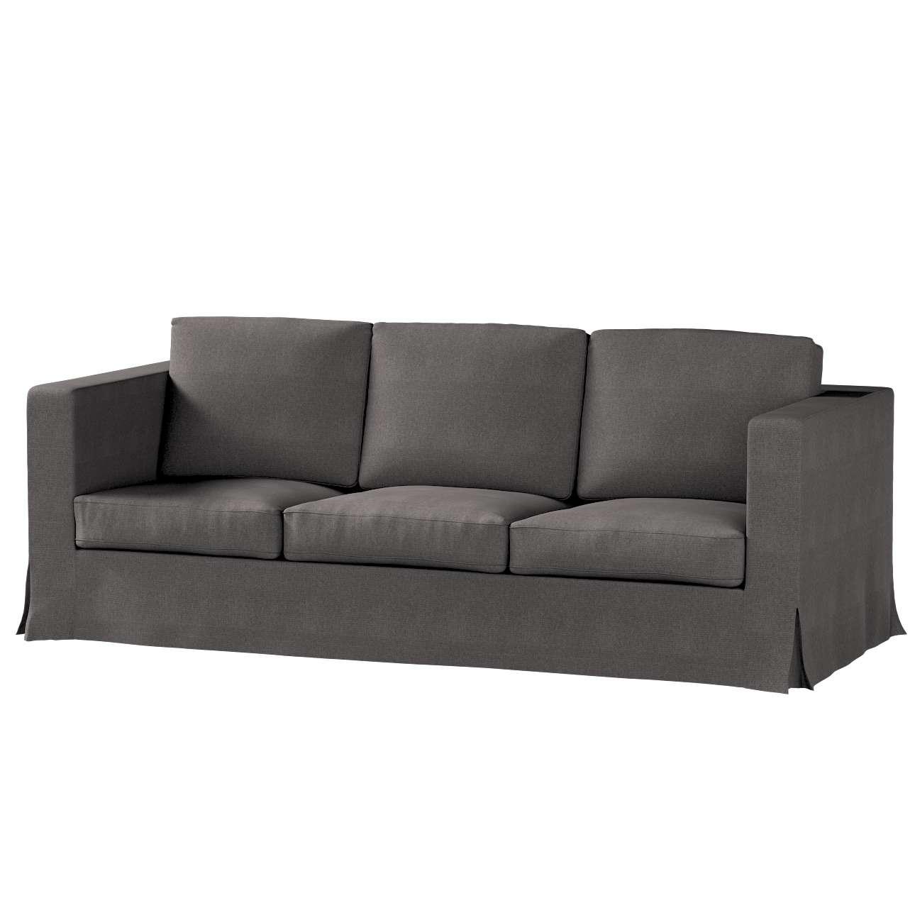 Potah na pohovku IKEA  Karlanda 3-místná nerozkládací, dlouhý pohovka Karlanda 3-os v kolekci Etna, látka: 705-35