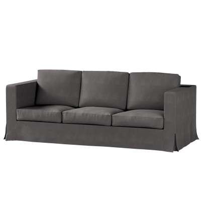 Karlanda klädsel 3-sits soffa - lång i kollektionen Etna, Tyg: 705-35