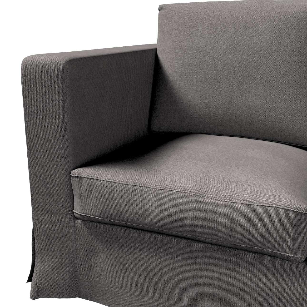 Pokrowiec na sofę Karlanda 3-osobową nierozkładaną, długi w kolekcji Etna, tkanina: 705-35