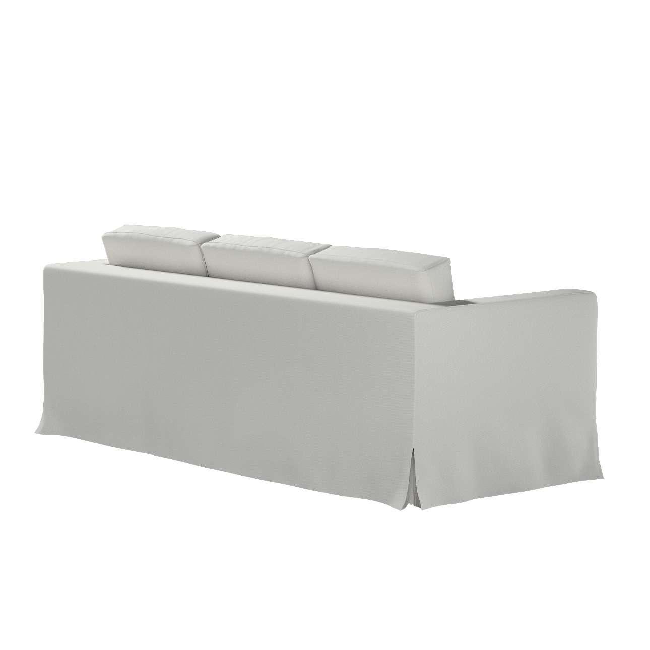 Pokrowiec na sofę Karlanda 3-osobową nierozkładaną, długi w kolekcji Etna, tkanina: 705-90