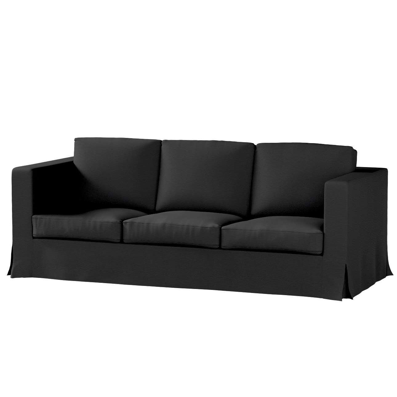 Karlanda klädsel 3-sits soffa - lång i kollektionen Etna, Tyg: 705-00