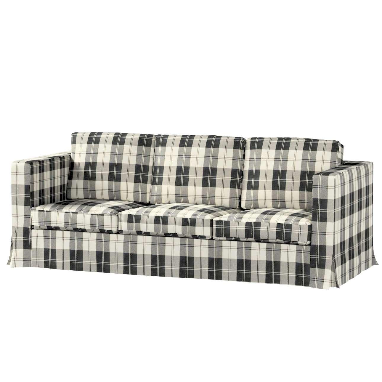 Karlanda 3-Sitzer Sofabezug nicht ausklappbar lang von der Kollektion Edinburgh , Stoff: 115-74