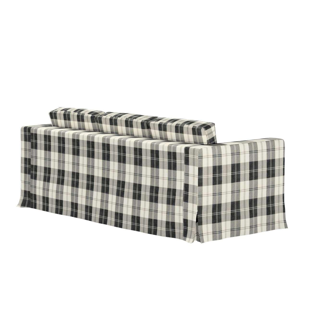 Potah na pohovku IKEA  Karlanda 3-místná nerozkládací, dlouhý v kolekci Edinburgh, látka: 115-74