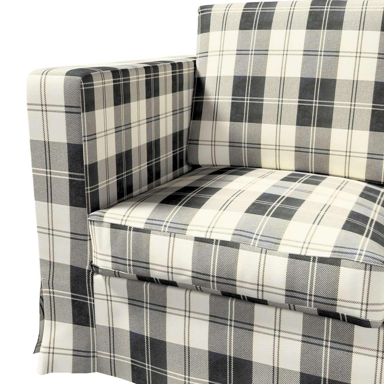 Karlanda 3-üléses  kanapé huzat nem kinyitható hosszú a kollekcióból Edinburgh Bútorszövet, Dekoranyag: 115-74