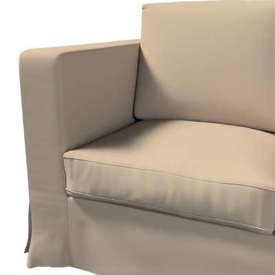 Karlanda klädsel 3-sits soffa - lång i kollektionen Panama Cotton, Tyg: 702-28