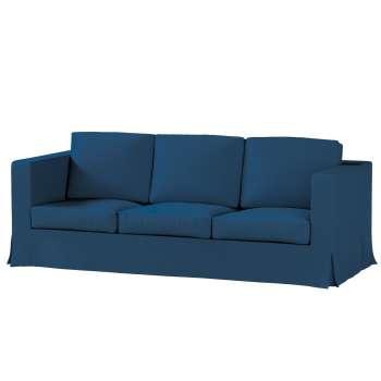 Pokrowiec na sofę Karlanda 3-osobową nierozkładaną, długi Sofa Karlanda 3-os w kolekcji Cotton Panama, tkanina: 702-30