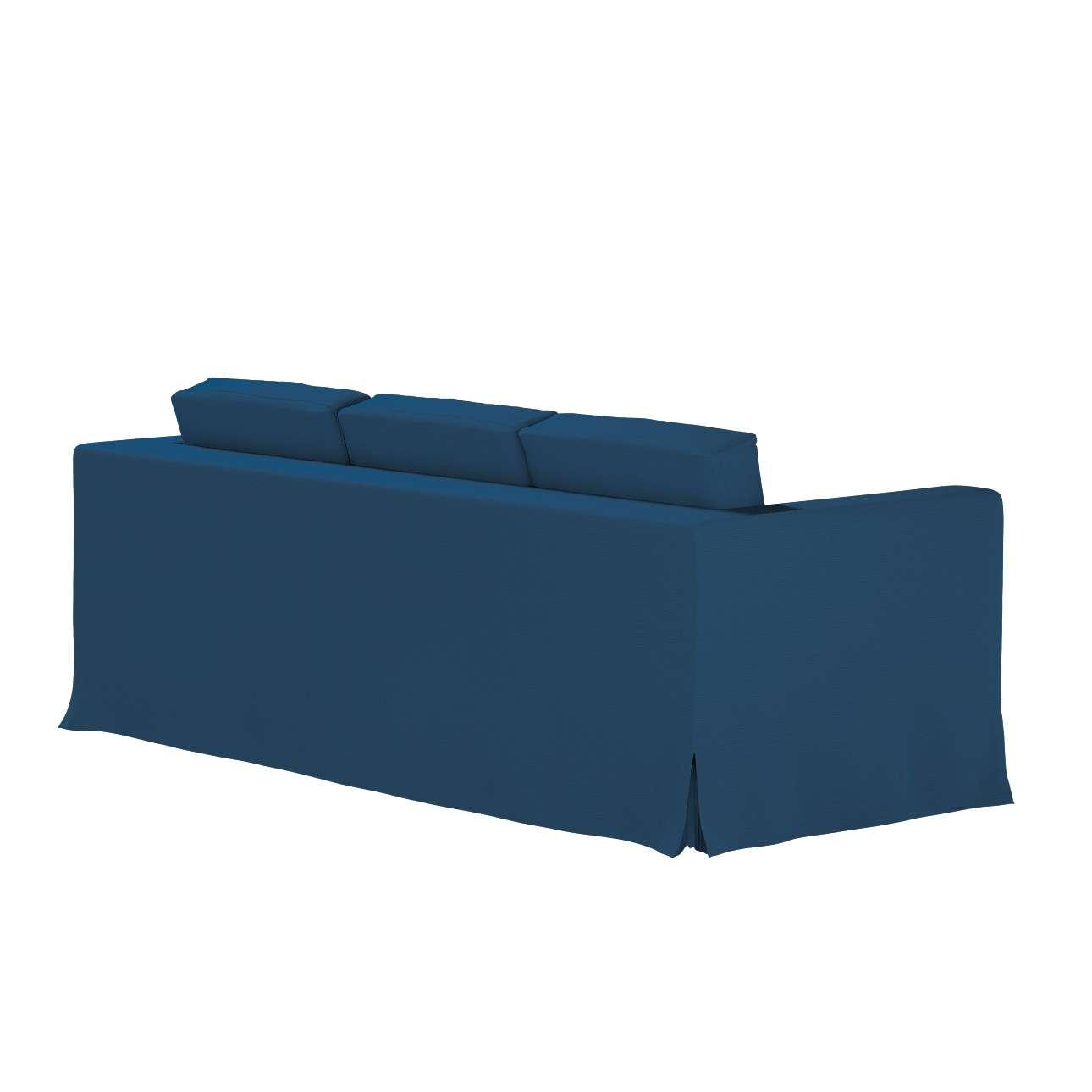Potah na pohovku IKEA  Karlanda 3-místná nerozkládací, dlouhý v kolekci Cotton Panama, látka: 702-30