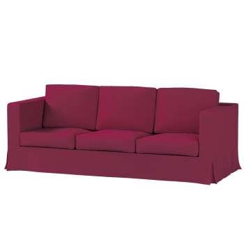 Pokrowiec na sofę Karlanda 3-osobową nierozkładaną, długi Sofa Karlanda 3-os w kolekcji Cotton Panama, tkanina: 702-32