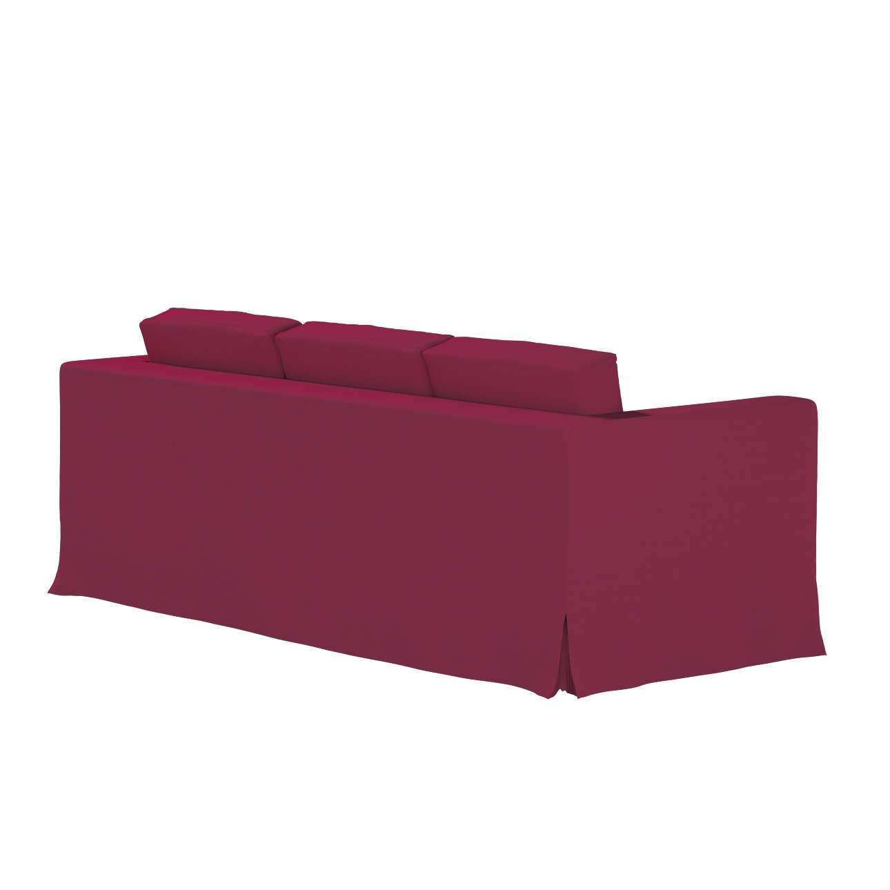 Karlanda 3-üléses  kanapé huzat nem kinyitható hosszú a kollekcióból Cotton Panama Bútorszövet, Dekoranyag: 702-32