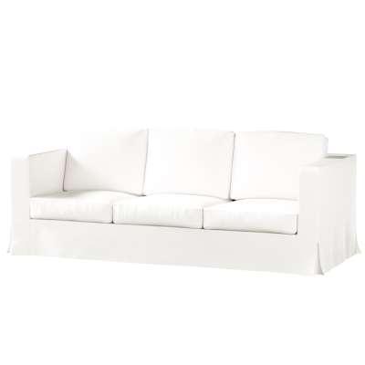 Karlanda klädsel 3-sits soffa - lång i kollektionen Panama Cotton, Tyg: 702-34