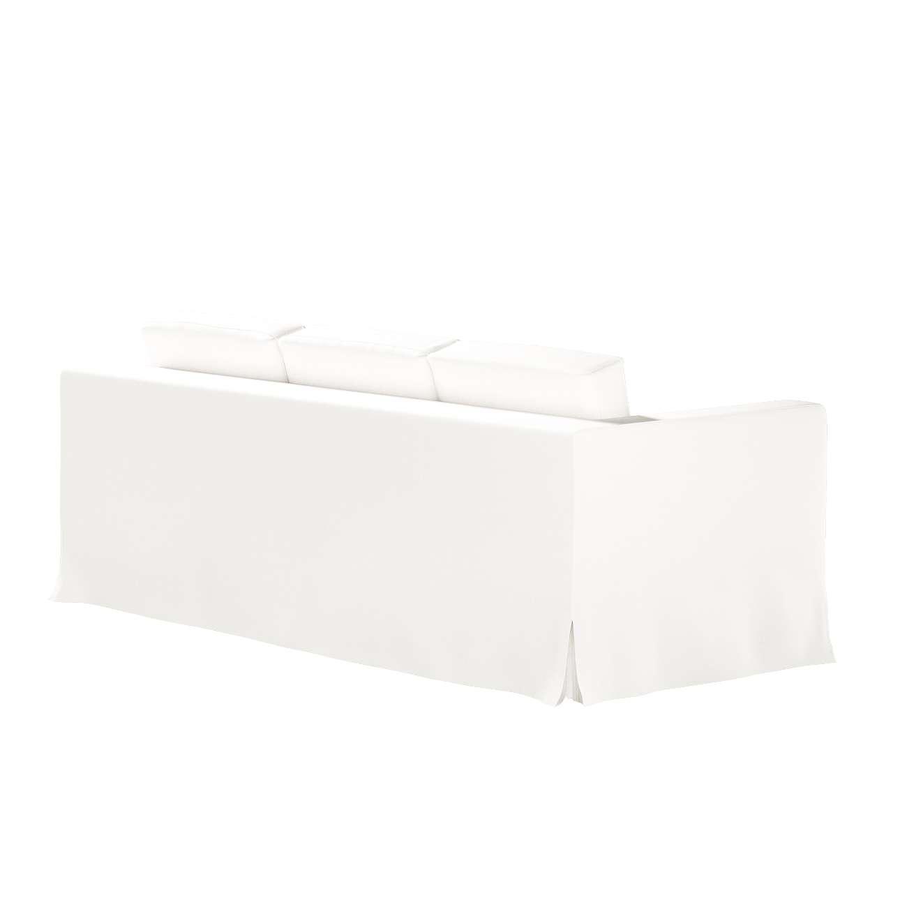 Potah na pohovku IKEA  Karlanda 3-místná nerozkládací, dlouhý v kolekci Cotton Panama, látka: 702-34