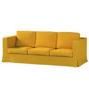 Pokrowiec na sofę Karlanda 3-osobową nierozkładaną, długi Sofa Karlanda 3-os w kolekcji Etna , tkanina: 705-04