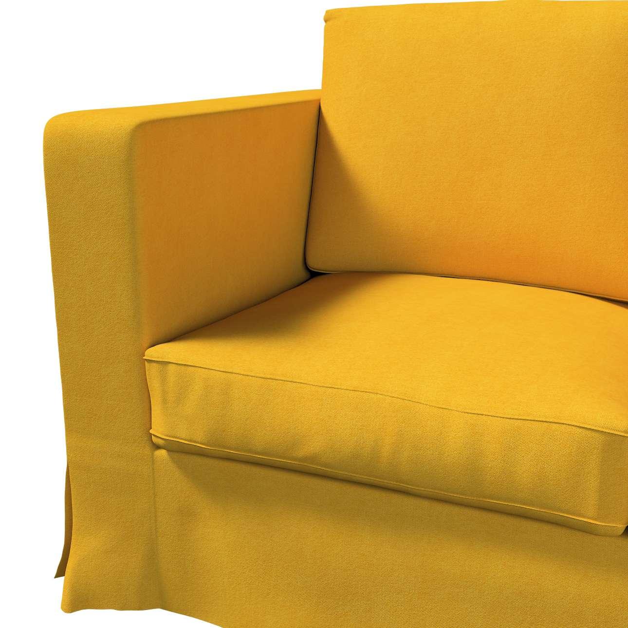 Karlanda 3-Sitzer Sofabezug nicht ausklappbar lang von der Kollektion Etna, Stoff: 705-04