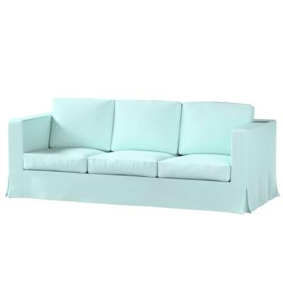 IKEA zitbankhoes/ overtrek voor Karlanda 3-zitsbank, lang van de collectie Cotton Panama, Stof: 702-10
