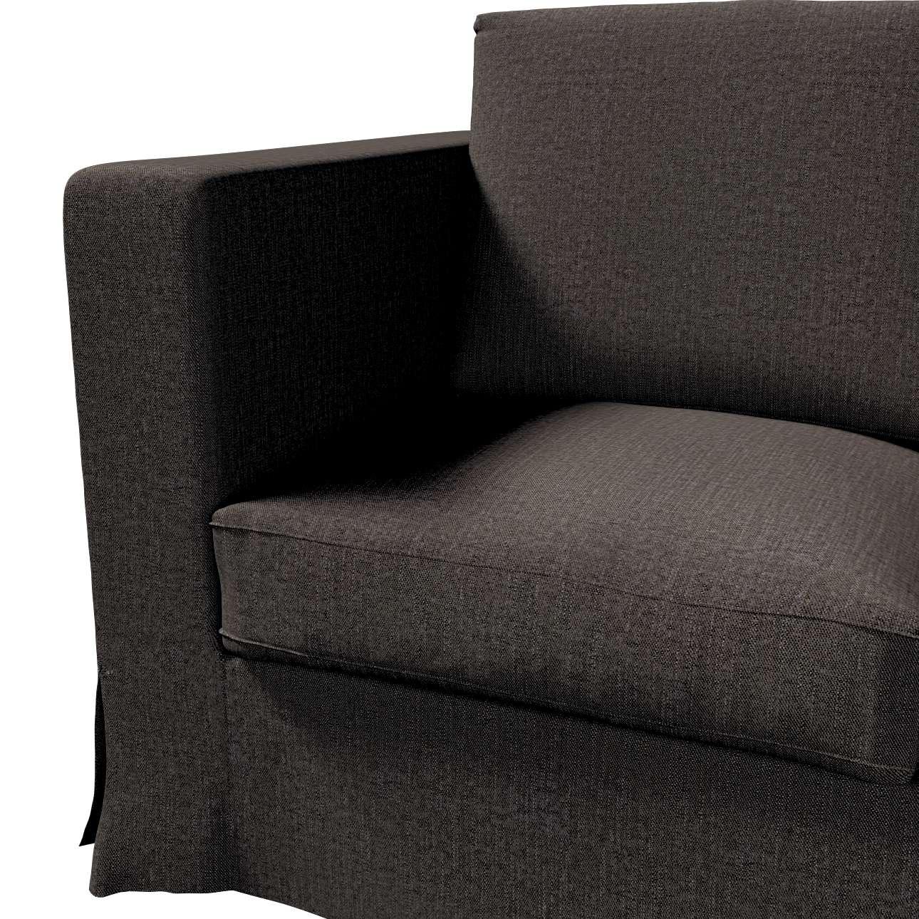Pokrowiec na sofę Karlanda 3-osobową nierozkładaną, długi w kolekcji Etna, tkanina: 702-36