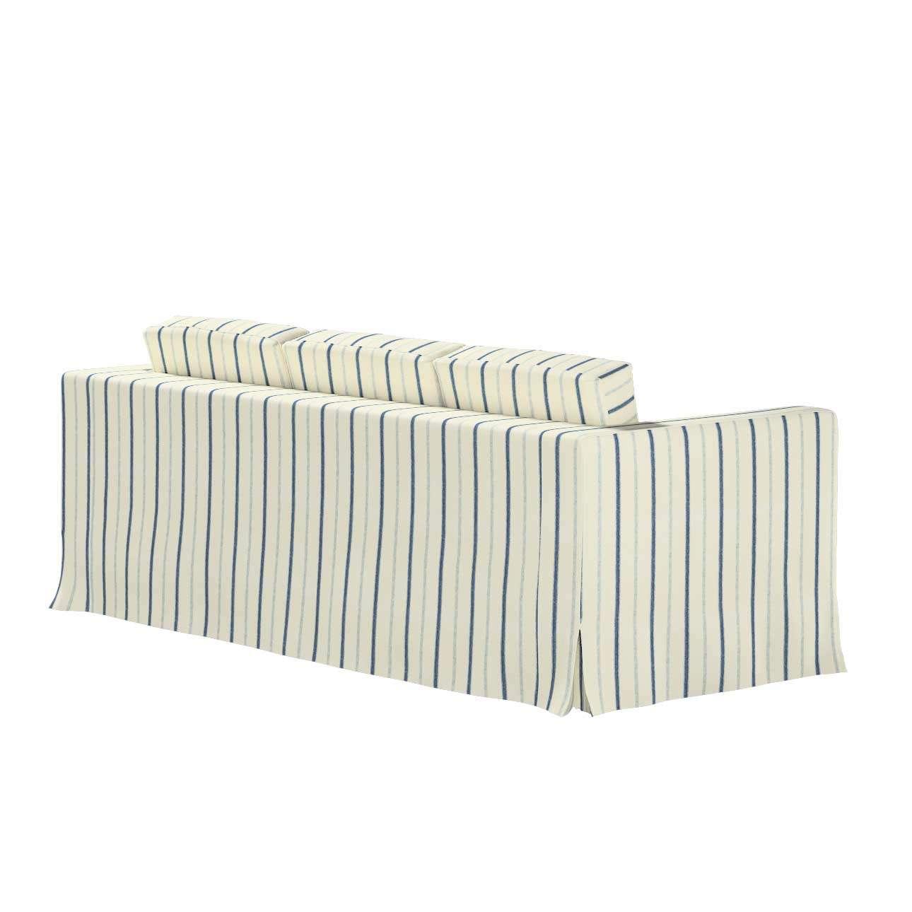 Bezug für Karlanda 3-Sitzer Sofa nicht ausklappbar, lang von der Kollektion Avinon, Stoff: 129-66