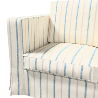 Karlanda klädsel 3-sits soffa - lång i kollektionen Avinon, Tyg: 129-66