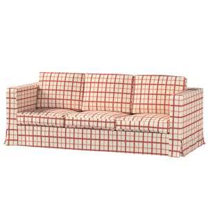 Pokrowiec na sofę Karlanda 3-osobową nierozkładaną, długi Sofa Karlanda 3-os w kolekcji Avinon, tkanina: 131-15