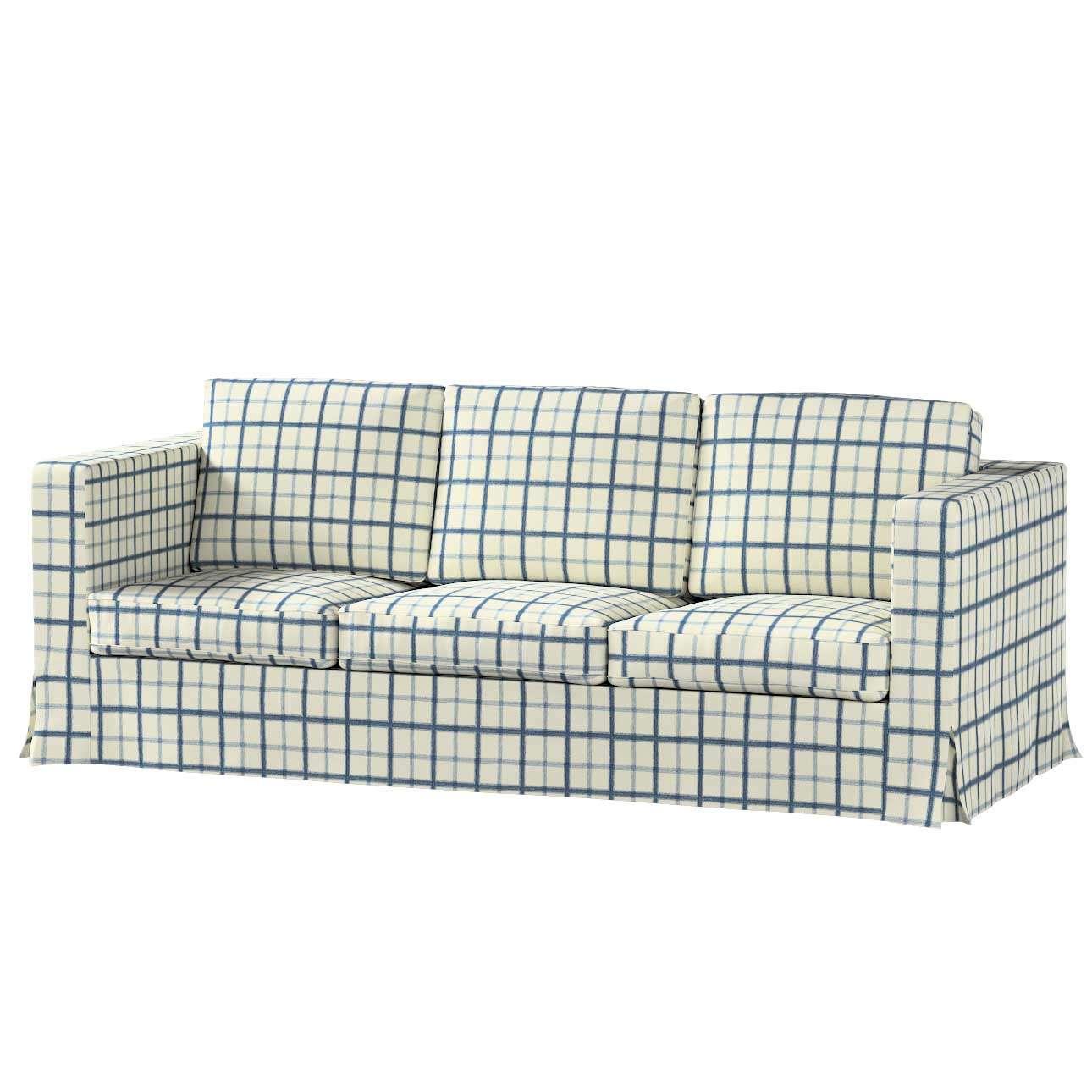Karlanda 3-Sitzer Sofabezug nicht ausklappbar lang von der Kollektion Avinon, Stoff: 131-66