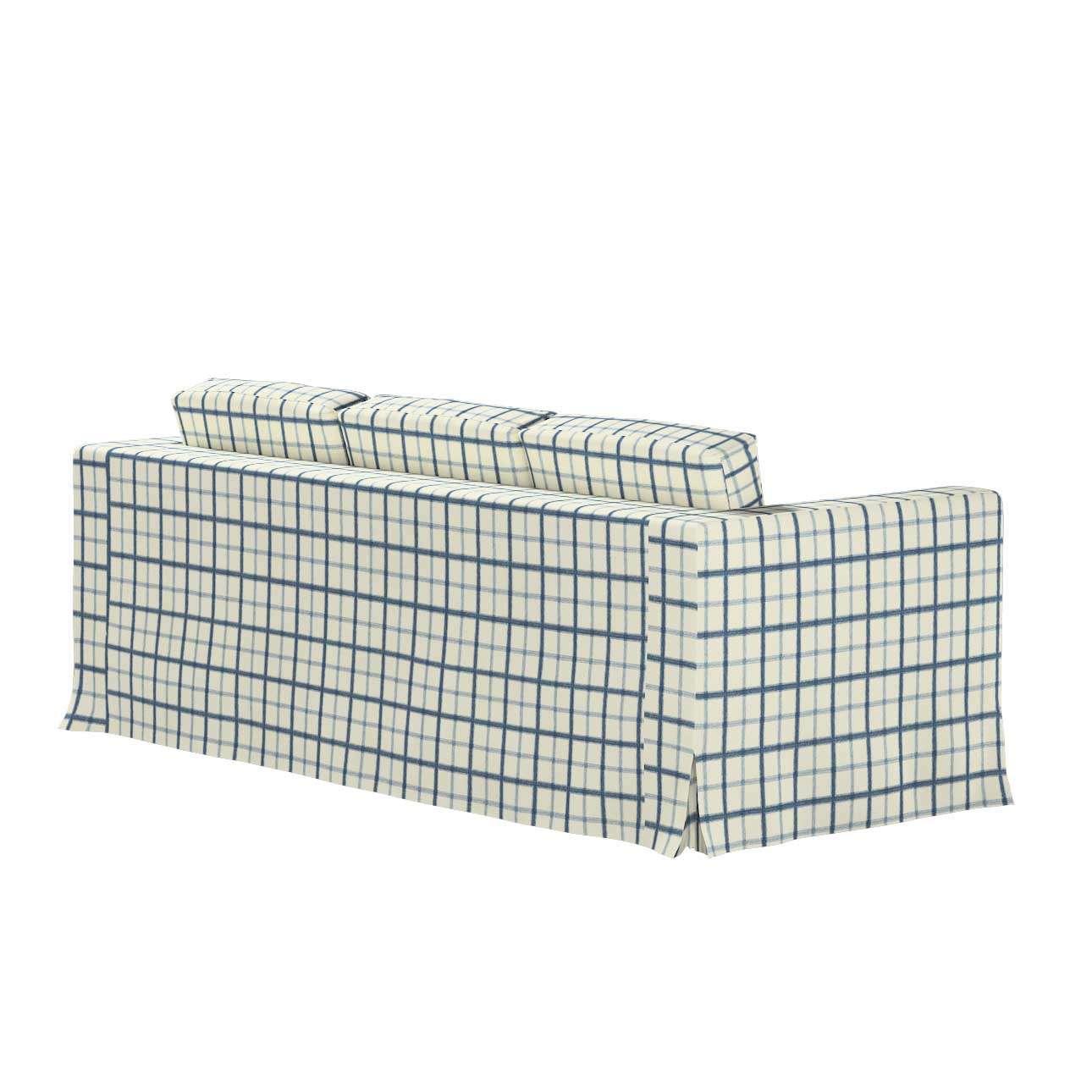 Potah na pohovku IKEA  Karlanda 3-místná nerozkládací, dlouhý v kolekci Avignon, látka: 131-66