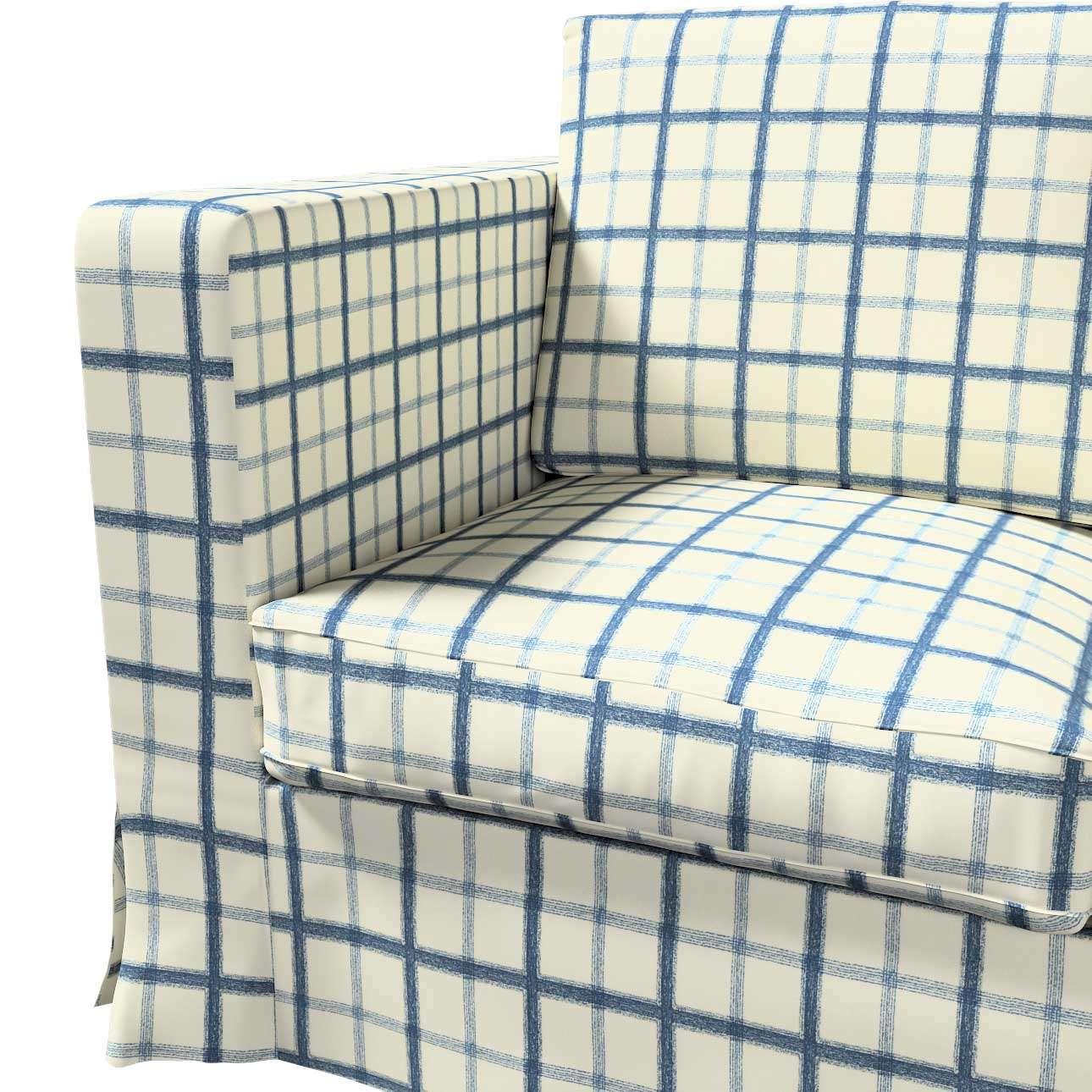 Karlanda klädsel 3-sits soffa - lång i kollektionen Avinon, Tyg: 131-66