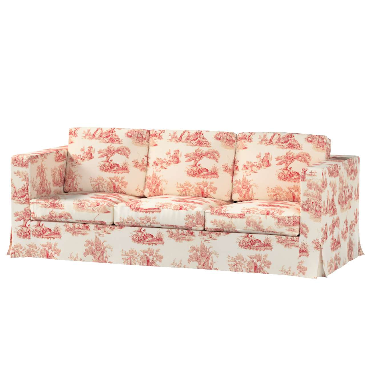 KARLANDA trivietės sofos iki žemės užvalkalas KARLANDA trivietės sofos iki žemės užvalkalas kolekcijoje Avinon, audinys: 132-15
